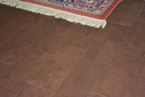 leather brc narrow planks cork floor