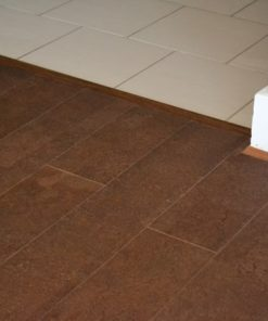leather brc narrow planks cork flooring