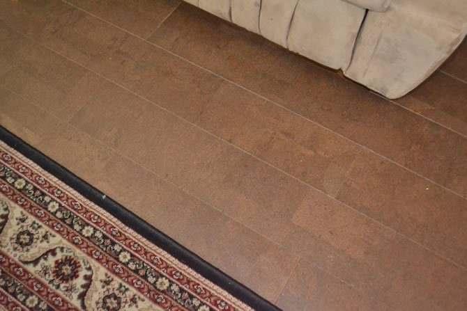 leather brc narrow planks cork floors forna