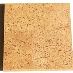 Leather Cork Floating Flooring Sample