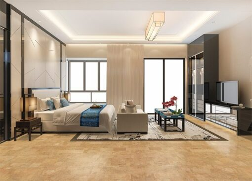 leather cork tiles interior modern design bedroom noise buffe cut noise flooring material