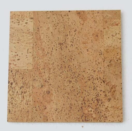leather cork tile sample