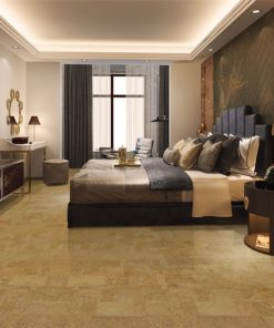 leather forna cork zero voc natural bedroom flooring