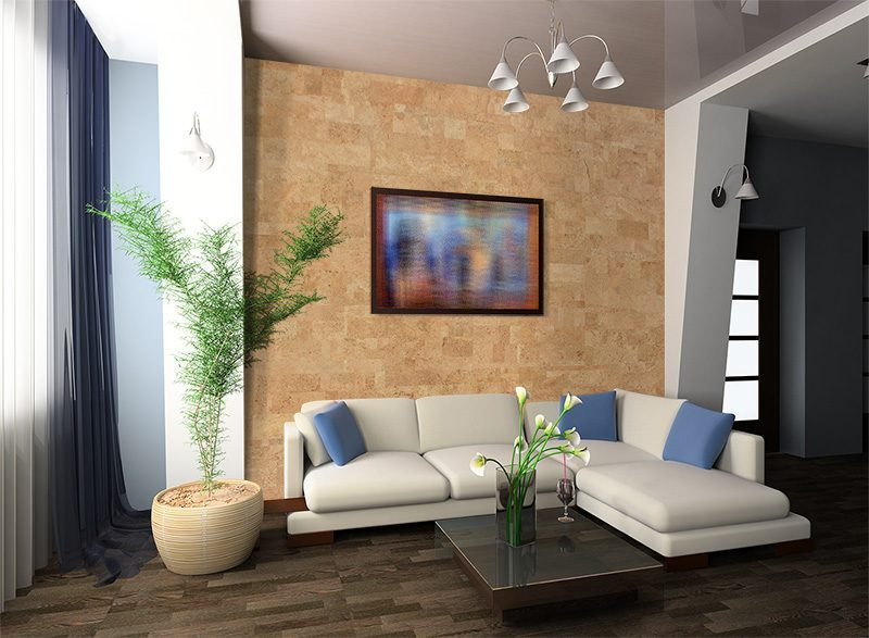 leather forna wall cork tiles luxury modern bedroom suite in hotel