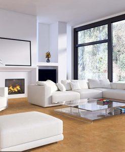 logan cork modern living room white sofa black winder form