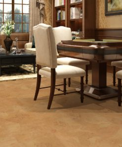 logan foran cork floor luxury living room mahjong table