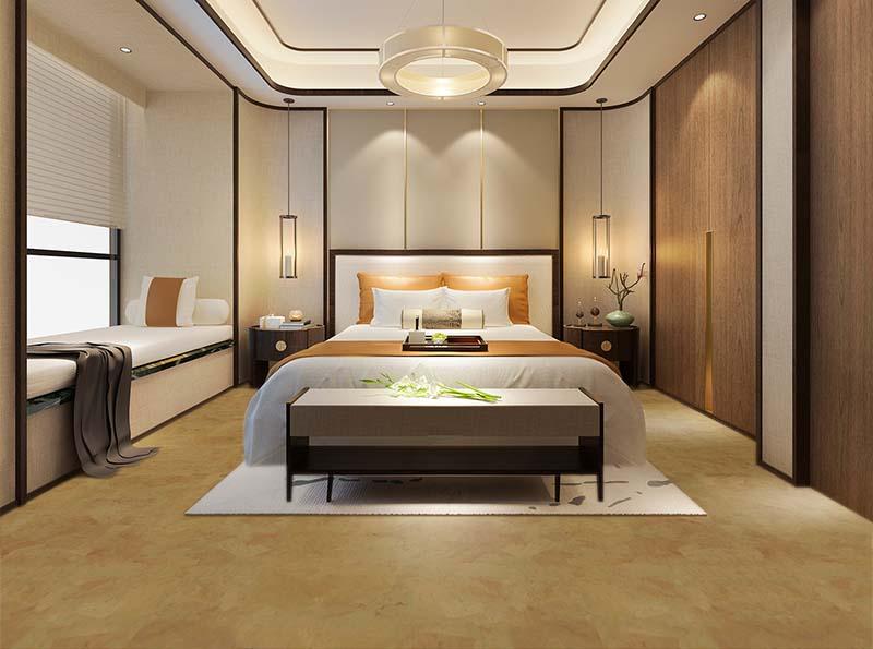 logan forna cork floor bedroom leed sustainable materials