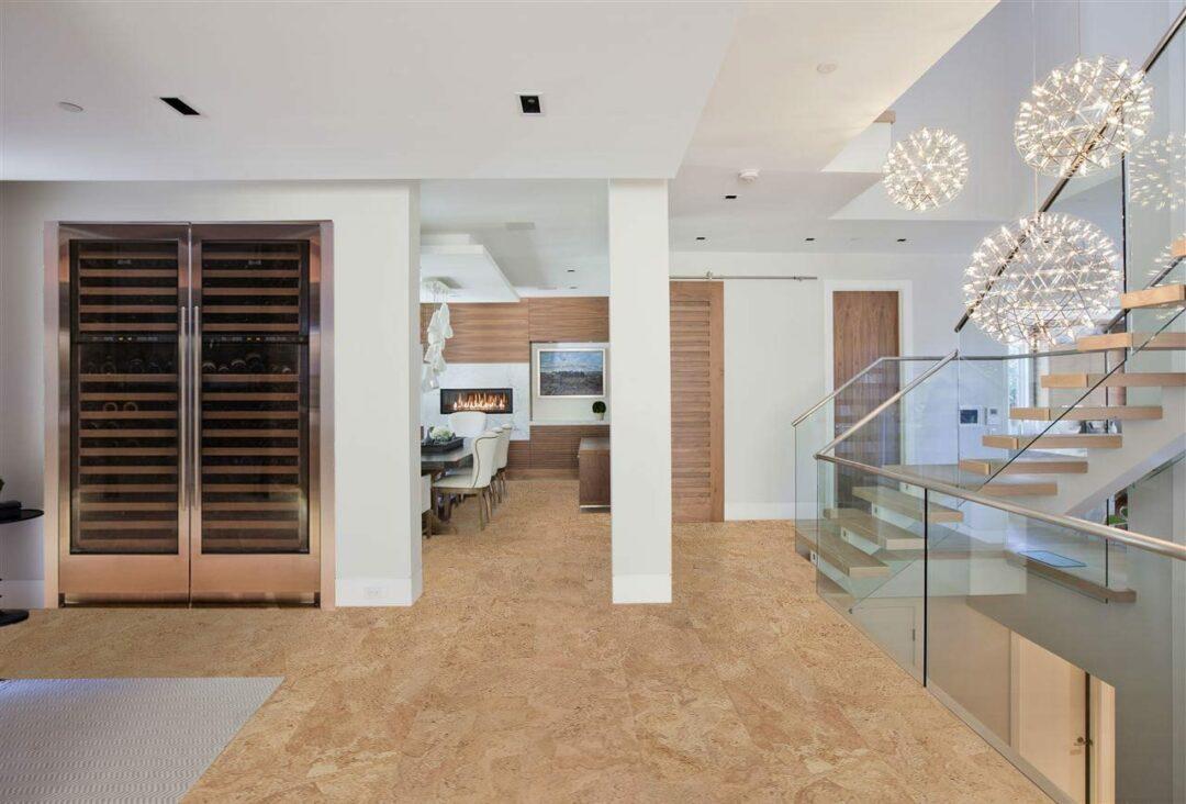 logan forna living room affordable cork flooring no voc green