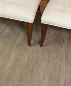 luxury vinyl plank teak cork living room