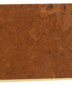 mahogany ripple 12mm cork floating floor sample