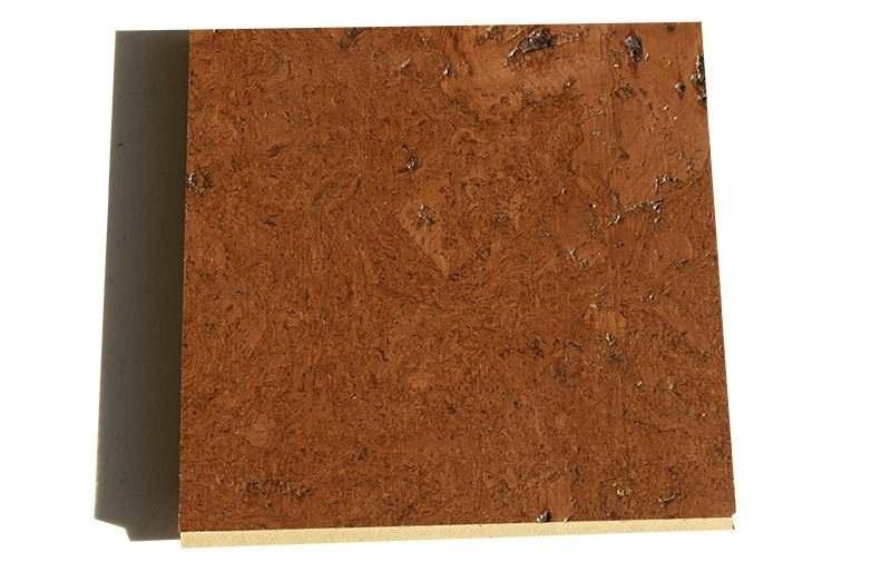 mahogany ripple 12mm cork floating floor sample