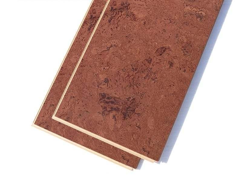 mahogany ripple forna 12mm cork flooring floating