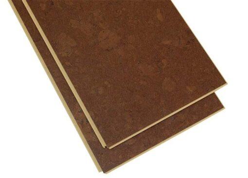 mahogany ripple uniclic forna 12mm cork flooring floating