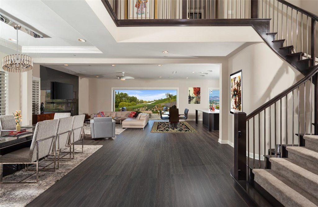 mocha design cork floor swiss made dark brown mansion easy installation