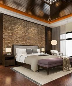 narrow bricks cork wall panels best sustainable insulation bedroom room