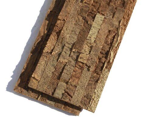 narrow bricks cork wall panels soundproofing wall tiles
