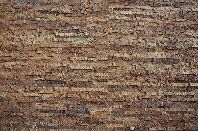 narrow bricks cork wall panels sustainable accoustic