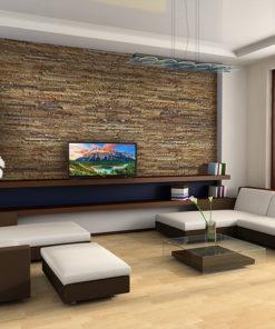 narrow bricks forna cork wall panels reduce noise sound-absorbing