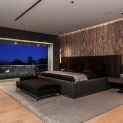 narrow bricks ledge stone cork wall panels sustainable accoustic soundproofing bedroom walls.jpg