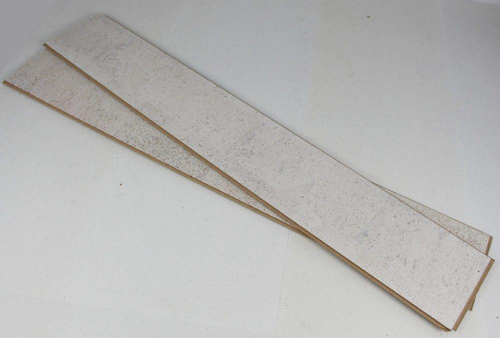 narrow plank white flooring