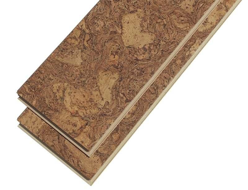 narrow planks cork flooring rocky bush