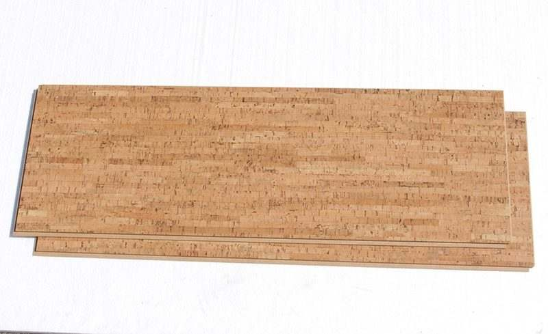 Natural cork flooring silver birch 12mm floating for Sustainable cork flooring