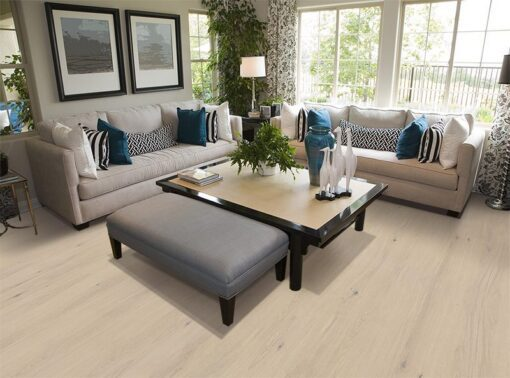 oak creme cork wood contemporary living room fireplace stylish decor