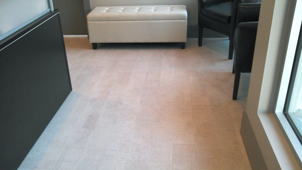 physical therapy room cork flooring