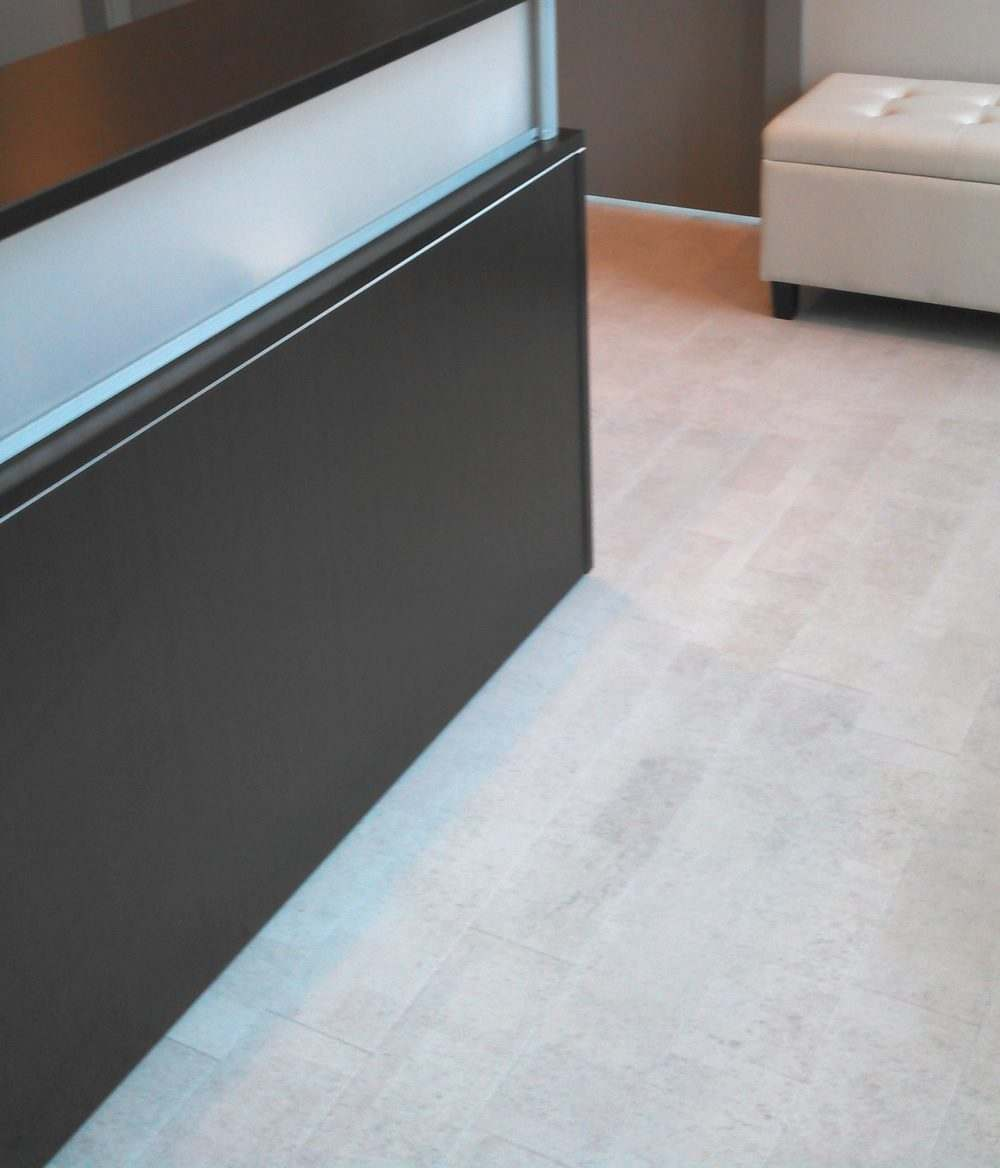 physical therapy white flooring