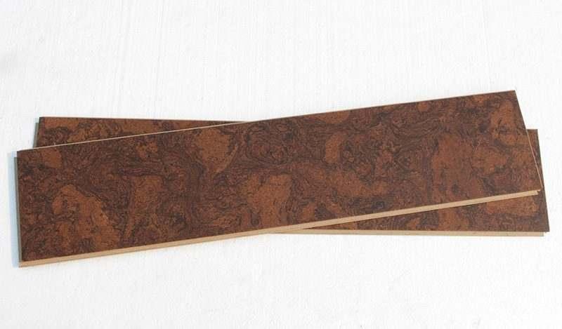 plank cork flooring sunny ripple beveled narrow
