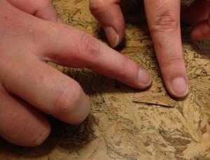 repair cork floor damaged tiles