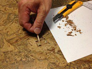 repair cork floor patch