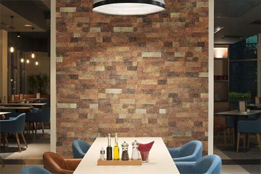 restaurant wall tiles cork wall panels sound proof insulation