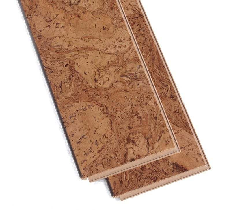 Bevelled Edge Cork Flooring Ripple 10sf Per Box 649 369sf