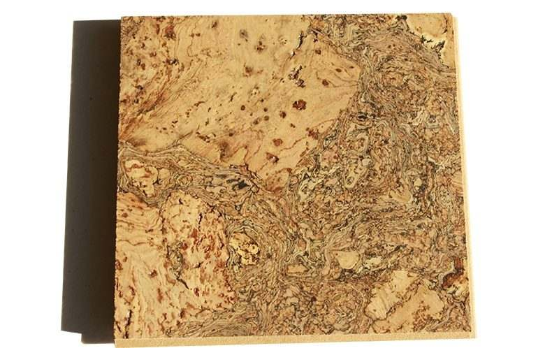 rococo cork flooring floating sample