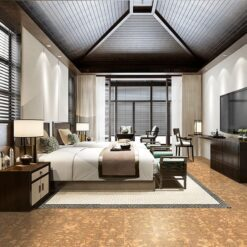 rococo forna cork flooring luxury bedroom thermal insulation comfortable