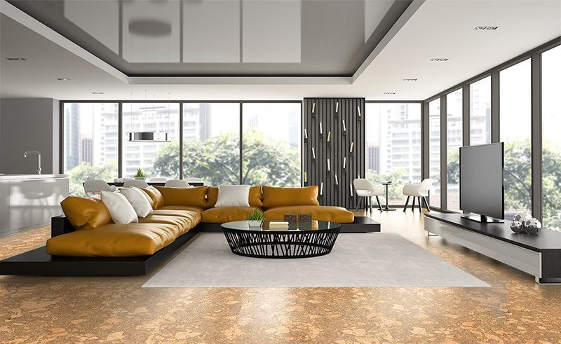 rococo forna cork flooring luxury modern home thermal insulation