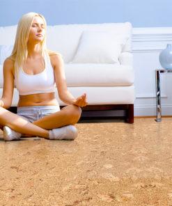 salami cork floor best yoga meditation flooring options warm