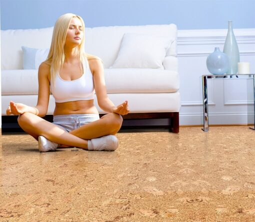 salami cork floor best yoga meditation flooring options warm