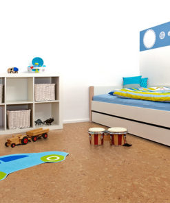 salami cork floor kids playroom bed rack with toys