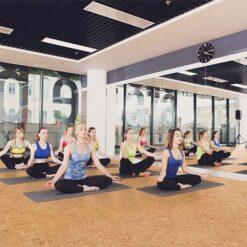 salami cork floor yoga meditation exercise room