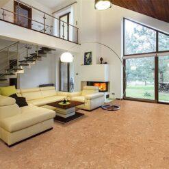 salami cork floors modern house entresol spacious living room high ceiling