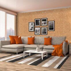 salami forna cork wall tiles for sound deadening insulation