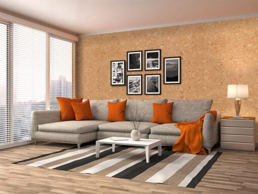 salami forna cork wall tiles for sound deadening insulation