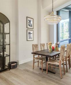 sasamat 5.5mm spc rigid core vinyl floors dinning room