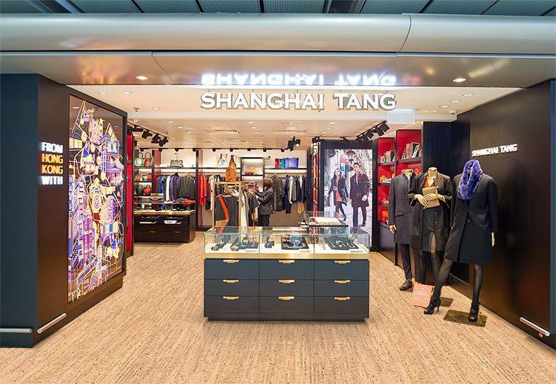 silver birch cork floor shop floor airport store
