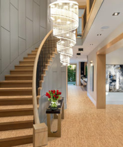 silver birch cork flooring sustainable fashion living design modern home