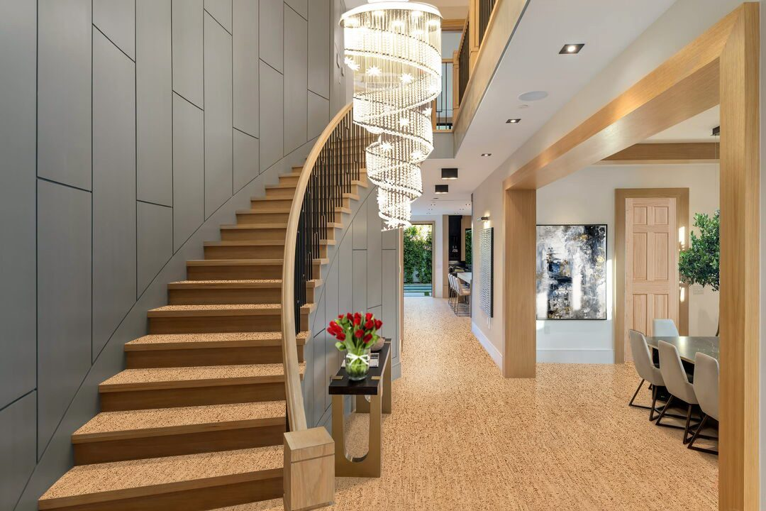 silver birch cork flooring sustainable fashion living design modern home