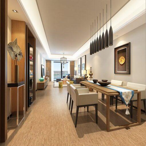 silver birch forna cork flooring natural colour living room
