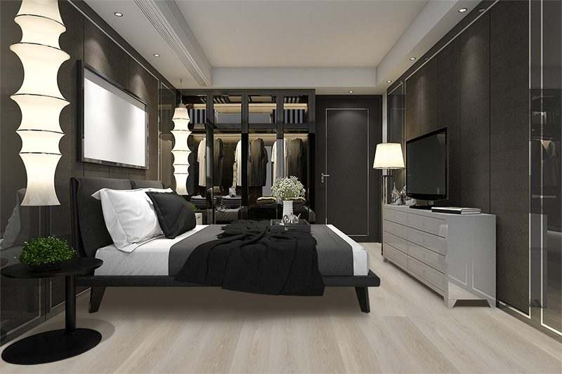 silver pine cork flooring forna fusion luxury modern bedroom